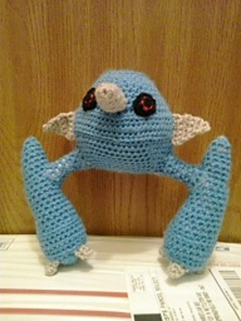 Free crochet Pokemon pattern – Tangela | 640x480