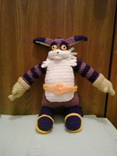 Big Amigurumi Cat Free Crochet Patterns | 640x480