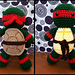 Raphael inspired plush pattern