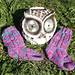 Mini Socke mit Löchern pattern