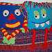 Monster Mania Pillows pattern