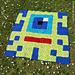 Allien - Pixelplaid pattern