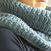 Cowl in Dotted Lines pattern