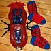 Spider Web Socks pattern