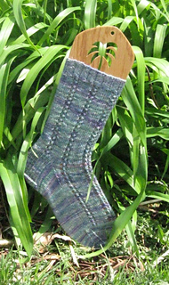 PALM TREE OAK SOCK BLOCKERS by PURRFECTLY CATCHY DESIGNS