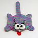 Splat Cat Amigurumi Plush Toy Coaster Pattern pattern
