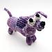 Wiener Dog Dachshund Knitting Pattern pattern