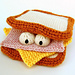 Sammich Amigurumi Sandwich Toy pattern