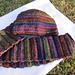 Circular Ridged Hat + Ridged Scarf pattern
