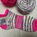 Shortie quick socks pattern