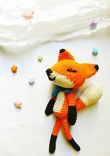 Red Fox amigurumi pattern by Kristi Tullus | Tilki, Hayvanlar ... | 320x226