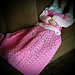 Princess Dress Blanket Pink pattern