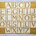 Alphabet Blanket pattern