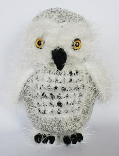 Crochet Snowy Baby Owl | I Heart Gantsilyo | 320x245