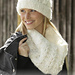 192-9 a Dancing Snow Hat pattern