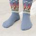 198-11 Flamingo Parade Socks pattern