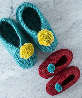 Ravelry: Family Slippers pattern by