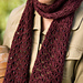English Mesh Lace Scarf pattern