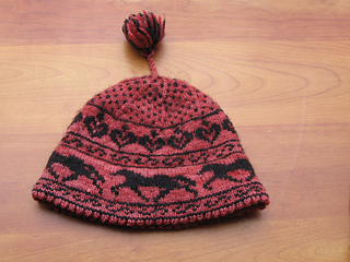 Picture running horse hat