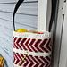 Crochet Arrow Project Bag pattern