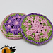 Picking Posies Face Scrubby pattern
