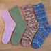 Fingering Weight TATU Sock pattern