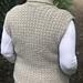 Cinnamon Whip Vest pattern