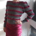 Striped and Ruched Jumper pattern