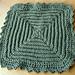 Center Squares Dishcloth pattern