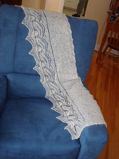 Leaf & Acorn scarf