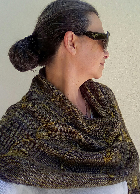 Despertares Shawl by Clarice Gomes