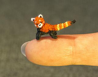 Miniature Panda Tiny Crochet Amigurumi Panda Bear Doll   Etsy   252x320