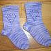 Lace Heart Socks pattern