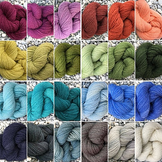 24 colors of Nash Island TIDE