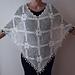 White Poncho pattern