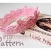 Baby Crown Tiara pattern