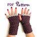 Easy Elegance Fingerless Gloves pattern