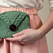 Libby's Seed and Cable Clutch pattern