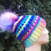 Winter Rainbow Dream Hat pattern