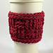 Basket Weave Drink and Ice Cream Pint Sleeve pattern