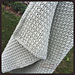 Reversible Crochet Textured Blanket (any size) pattern