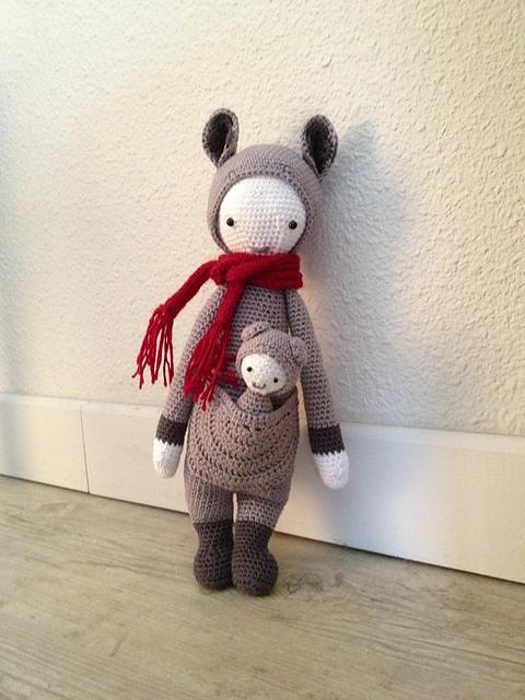Amigurumi Crochet Patterns par lalylala sur Etsy | 640x480