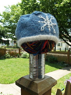 snow princess hat