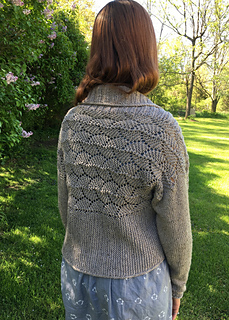 Wandering Lace Shrug by Countrywool