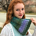 Peacock Cowl pattern