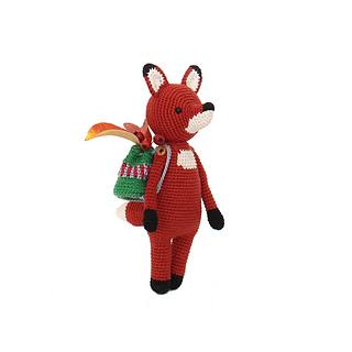Fox pattern by Made By Hannah | Crochet fox pattern free ... | 320x320