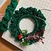 Loops Wreath pattern