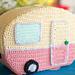 Mini Vintage Caravan pattern