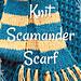 Newt Scamander Scarf pattern