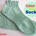 Summer Walking Socks pattern